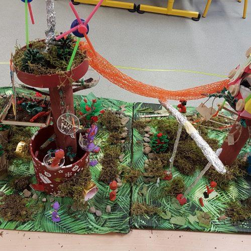 Cabane dans les arbres - PS-GS / École maternelle Les Tulipes