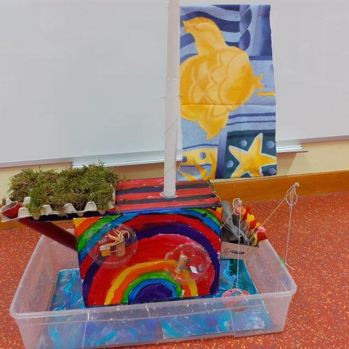 La maison qui flotte - PS-MS / École maternelle Les Tulipes / 1er Prix catégorie 1
