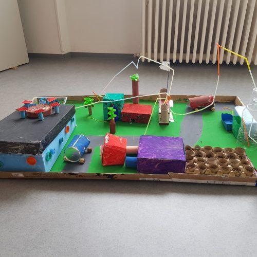 Wachsendorf - GS-CE1 / École Marelle Moulin de Schweighouse sur Moder