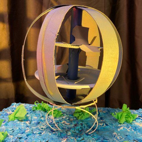 Médusa - CE1 /  Accueil de loisirs La souris verte de Lampertheim / 1er Prix ex-aequo