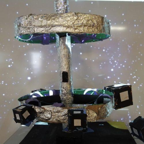 Habiter dans l'espace - CM2 / École Élémentaire Serpentine / 1er Prix