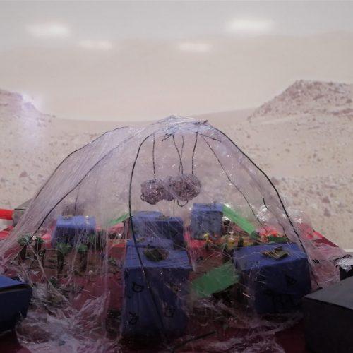 Habiter sur Mars - CM2 / École Élémentaire Serpentine / 1er Prix
