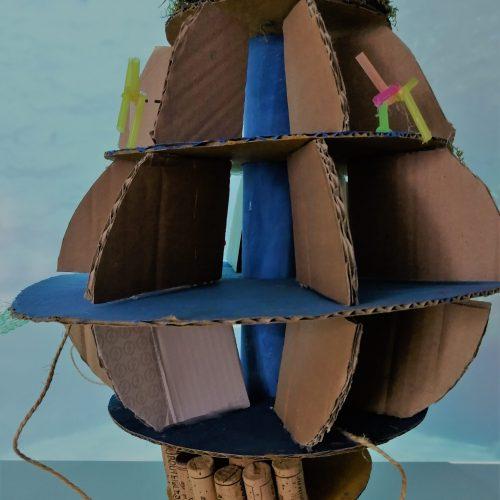 Maison-bulle sous-marine - CM2 / École Élémentaire Serpentine / 1er Prix