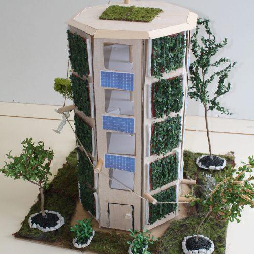 Octogonal Eco Building - 2e8 / Lycée Heinrich-Nessel, Haguenau