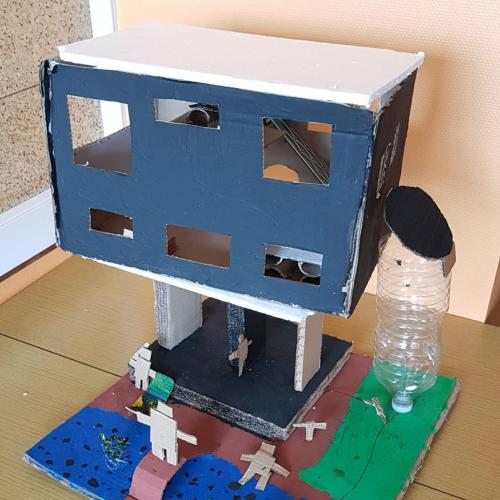 Maison en hauteur- CM1 / École Élémentaire Serpentine