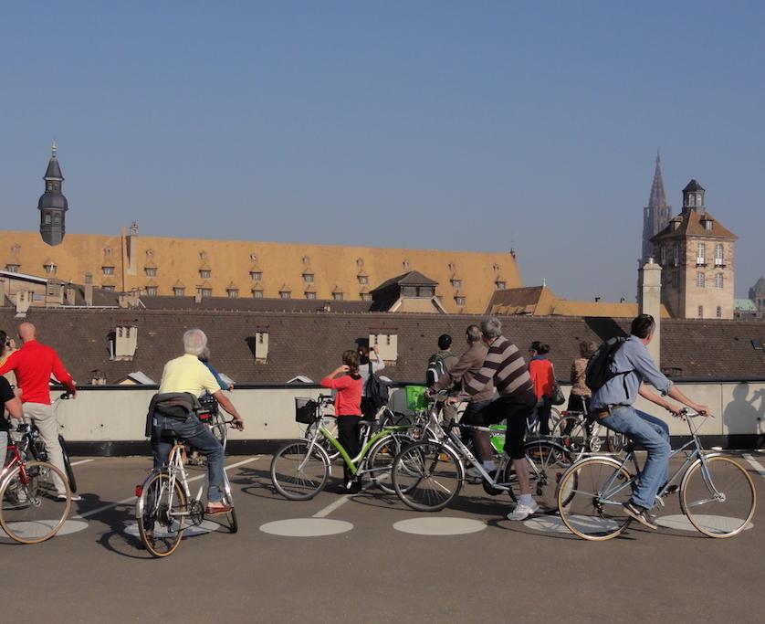Parcours vélo Strasbourg - JA 2011 - Kay-Uwe May