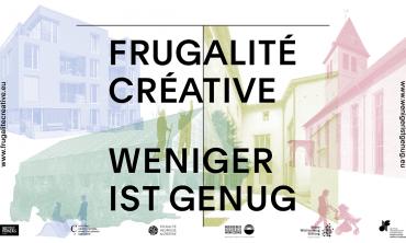 Exposition Frugalité créative – Weniger ist genug