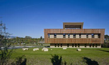 Bürogebäude aus Holz für das ONF (Office national des forêts)