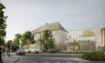 6 réalisations récentes de la Ville et de l'Eurométropole de Strasbourg Restaurant scolaire du groupe scolaire Finkwiller