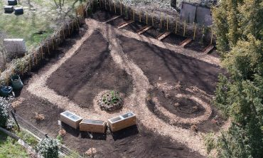 Der jardin de l'Hêtre, die Landschaft in einer städtischen Umgebung neu denken